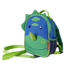 skip hop - safety mini backpack dino