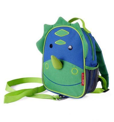 skip hop - safety mini backpack dino