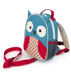 skip hop - safety mini backpack owl