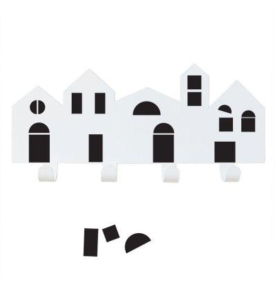 tresxics - houses hanger + magnets