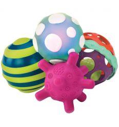 battat - palle sensoriali ball-a-baloos