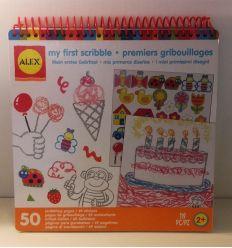 alex toys - album da colorare i miei primi scarabocchi