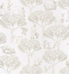 caselio - wallpaper wood biche (gold)