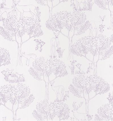 caselio - wallpaper wood biche (lilac)
