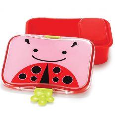 skip hop - lunch box ladybug