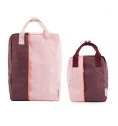 rilla go rilla - backpacks mommy and me (pink/bordeaux)