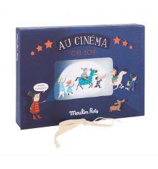 "moulin roty - cofanetto gioco ""au cinéma"""