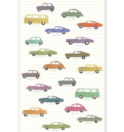 eijffinger - wall print wallpaper cars