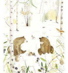 eijffinger - wall print wallpaper bears