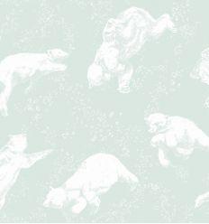 borastapeter - carta da parati orsi polarn