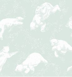 borastapeter - wallpaper bears polarn