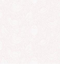 borastapeter - wallpaper buddy birds (rose)