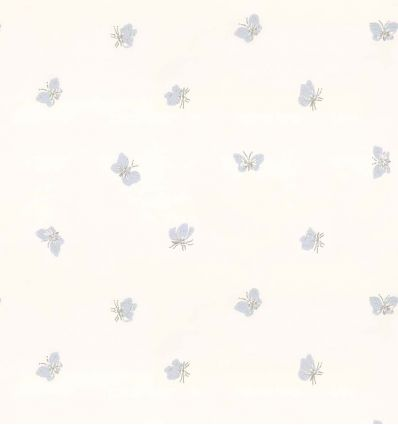 cole & son - wallpaper butterflies peaseblossom (white)