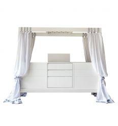 complojer - ticia for twins letto evolutivo (bianco)