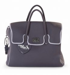 childhome - neoprene nursery bag (grey)