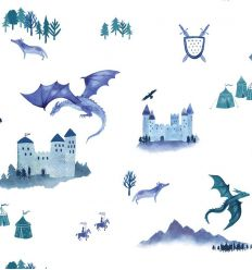 hibou home - wallpaper castles and dragons