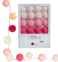 la case de cousin paul - string lights for babies louise (pink)