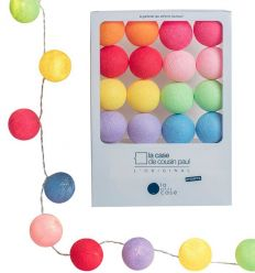 la case de cousin paul - string lights for babies oscar (multicolor)