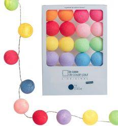 la case de cousin paul - string lights for babies oscar (multicolor)