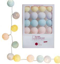 la case de cousin paul - string lights for babies céleste (multicolor)
