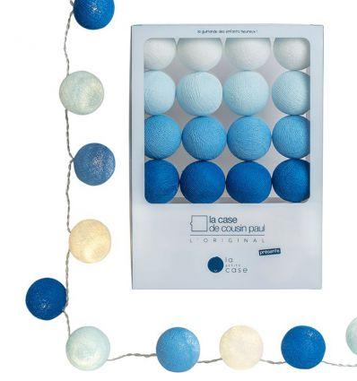 la case de cousin paul - ghirlanda luminosa per bambini lucien (azzurro)