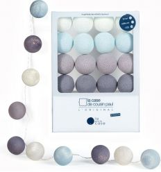 la case de cousin paul - string lights for babies léo (soft blue)