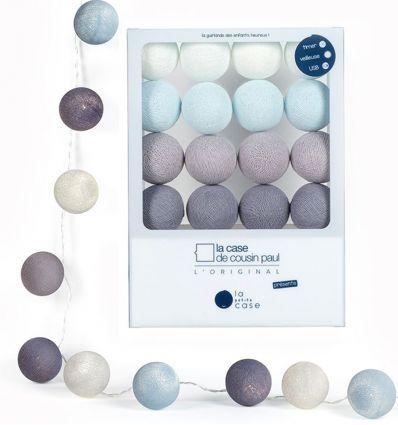 la case de cousin paul - string lights for babies léo (soft blue)