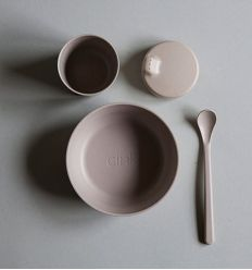 bamboo dinner set fog