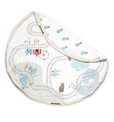 play&go - sacca portagiochi trainmap/bears
