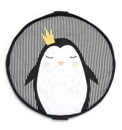 play&go - tappeto gioco soft 3 in 1 pinguino
