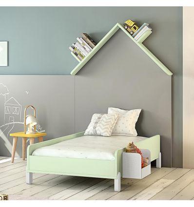 montessori junior bed (white)