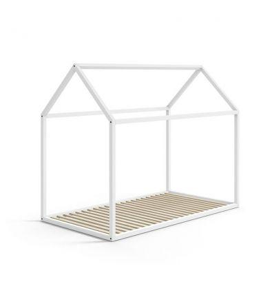 lettino casa montessori 70x140 (bianco)