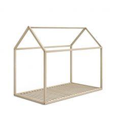 letto casa montessori 90x190 (legno naturale)