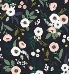 lilipinso - carta da parati fiori blooming bouquets dark