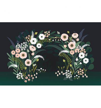 lilipinso - pannello di carta da parati fiori wonderland