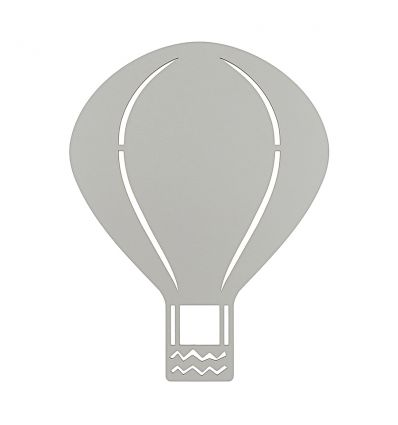 ferm living - air balloon wall lamp (grey)