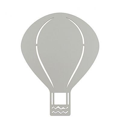 ferm living - lampada da parete mongolfiera (grigio)