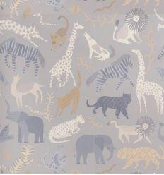 ferm living - carta da parati safari
