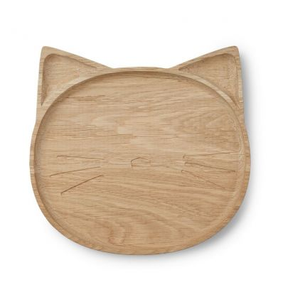 liewood - oak cat plate