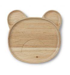liewood - piatto in legno orso