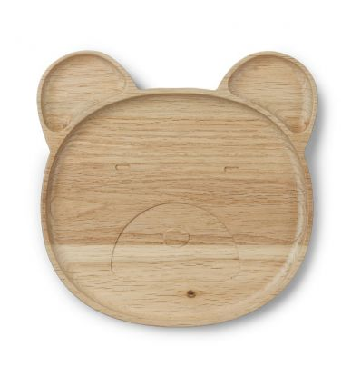 liewood - oak bear plate