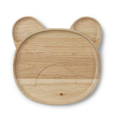 liewood - oak bear plate