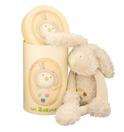 moulin roty - tap tap the rabbit soft toy les zazous