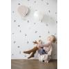 ferm living - lampada da parete mongolfiera (rosa cipria)