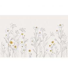 lilipinso - paper decor mural across field