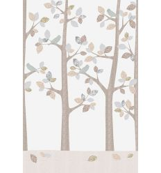 inke - wall mural trees bos february