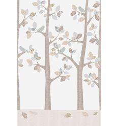 inke - murale in carta da parati alberi bos february