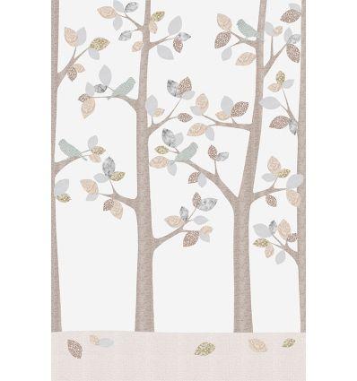 inke - wall mural trees bos february