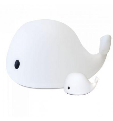 filibabba - lampada led balena grande da terra