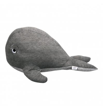 filibabba - big whale teddy grey